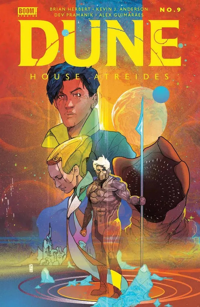 Dune: House Atreides #9 (Cover B Ward)