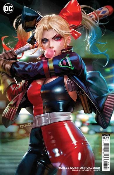 Harley Quinn: 2021 Annual #1 (Derrick Chew Cardstock Variant)