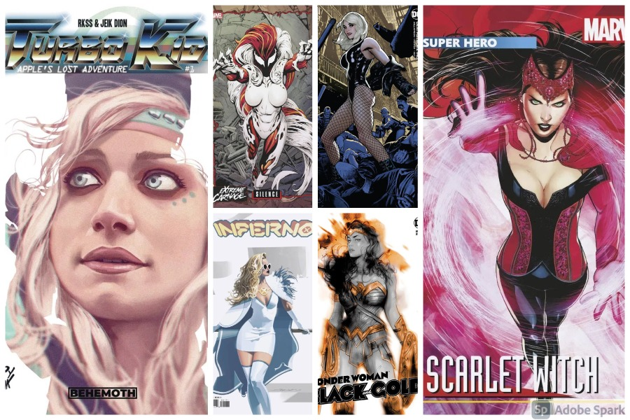 10 Female Comic Book Cover Stars