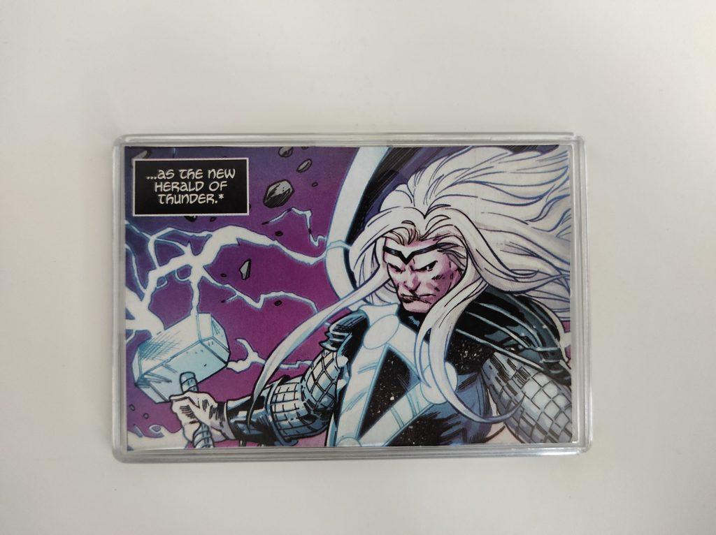 Thor Galactus Large Comic Book Fridge Magnet/Mini Frame