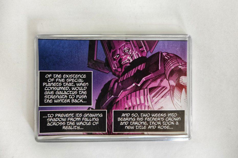 Galactus Large Comic Book Fridge Magnet/Mini Frame
