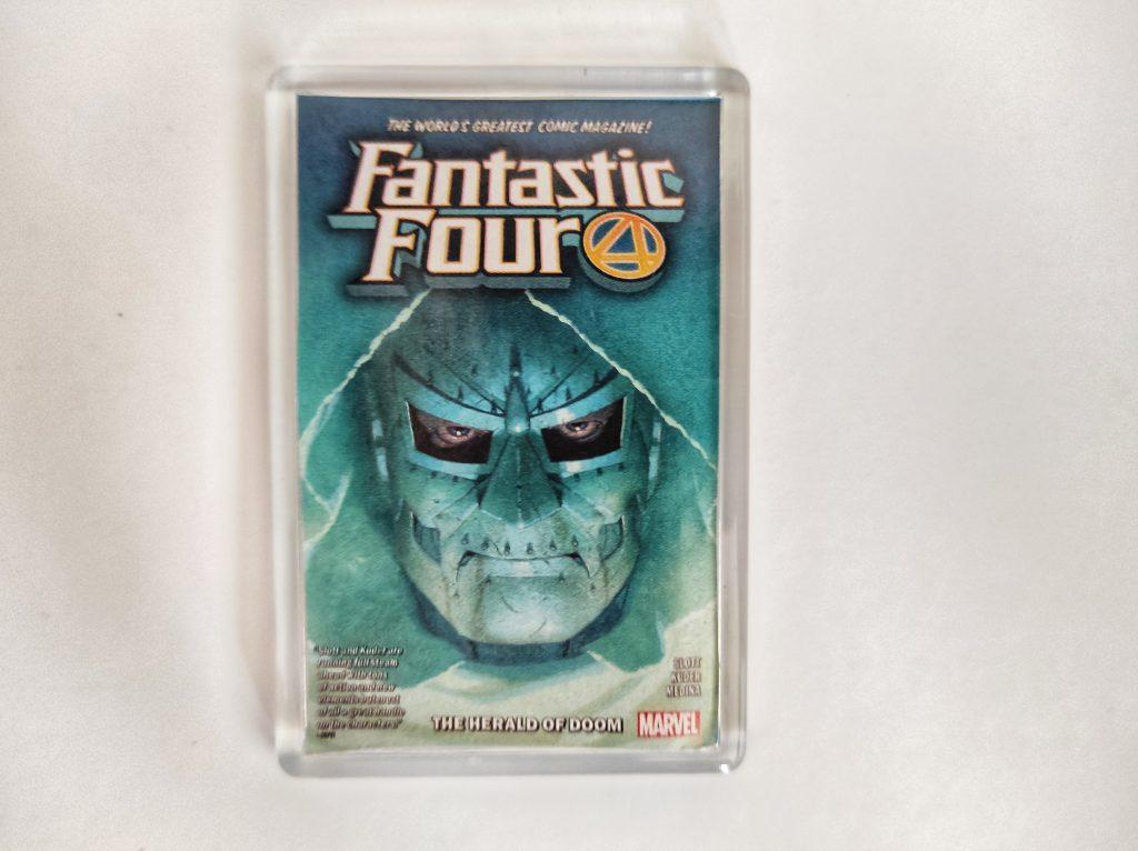 Fantastic Four Dr Doom Fridge Magnet Mini Frame