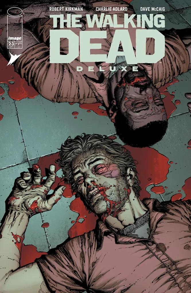 Walking Dead Deluxe #23 (Cover A Finch & McCaig)