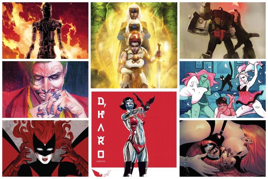 15 Beautiful Comic Book Covers