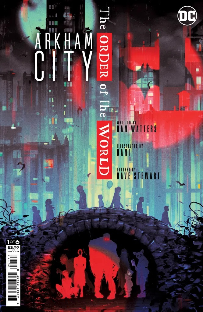Arkham City The Order Of The World #1
