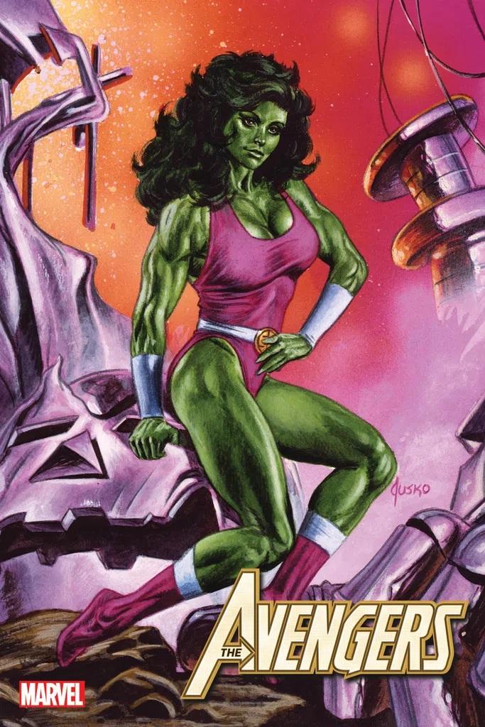 Avengers #49 (Jusko Marvel Masterpieces Variant)