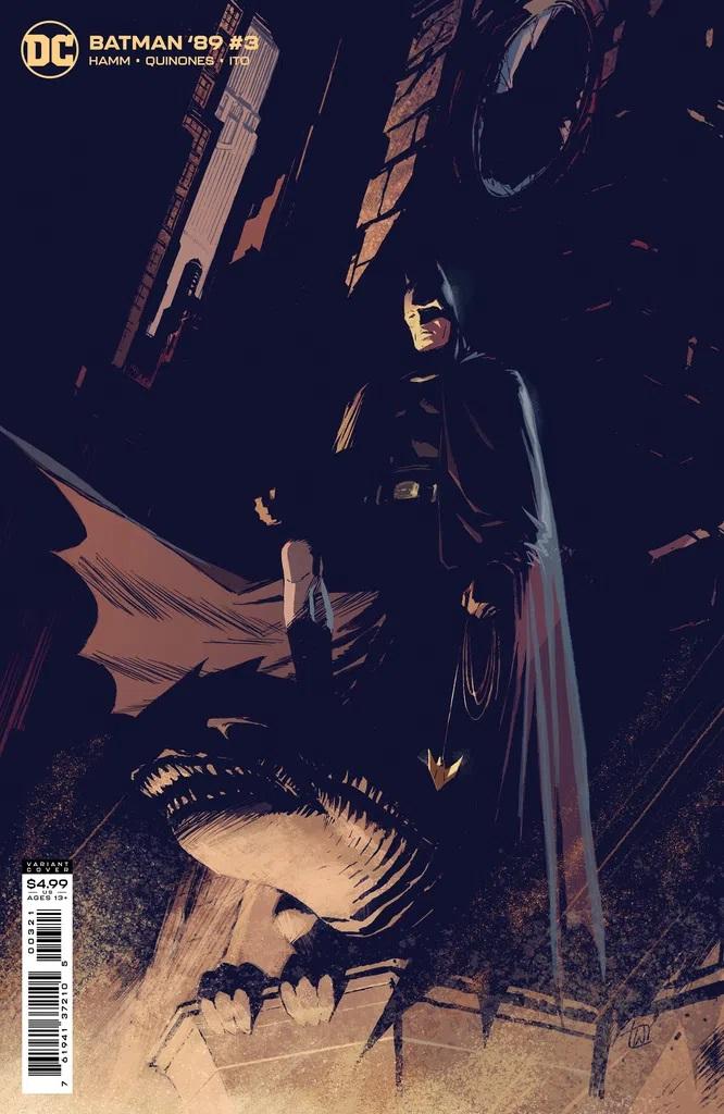 Batman '89 #3 (Lee Weeks Cardstock Variant)