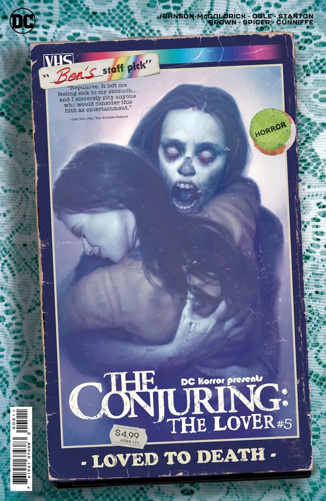 DC Horror Presents The Conjuring The Lover #5 (Ryan Brown Cardstock Movie Poster Variant)