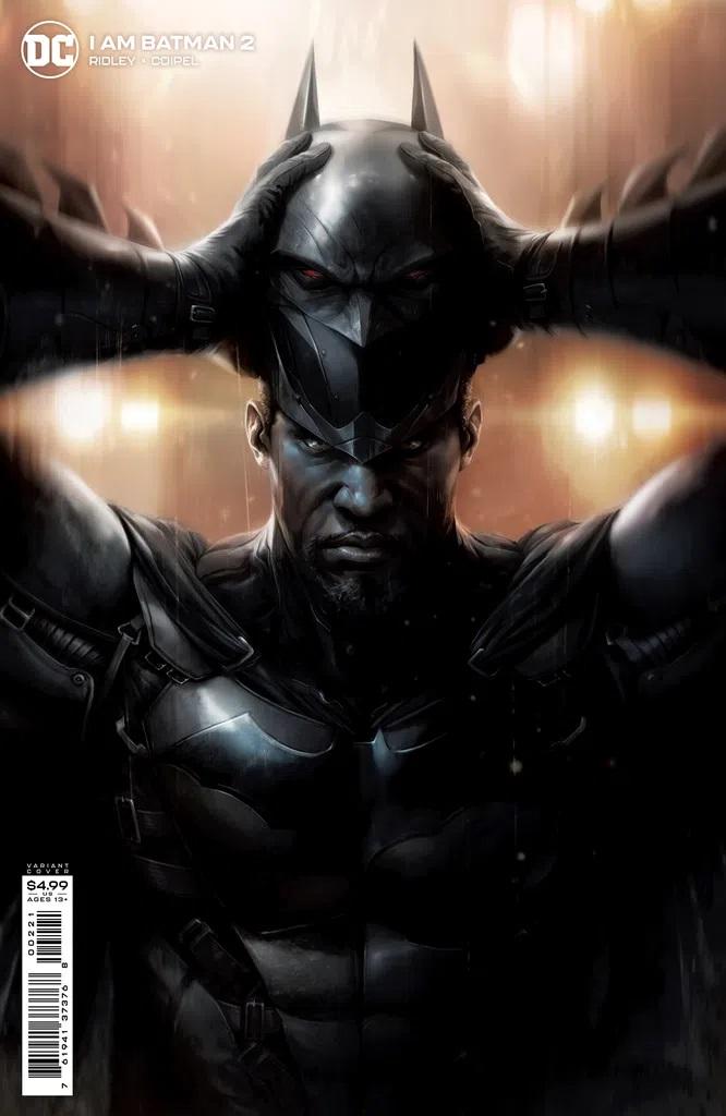 I Am Batman #2 (Cardstock Variant)