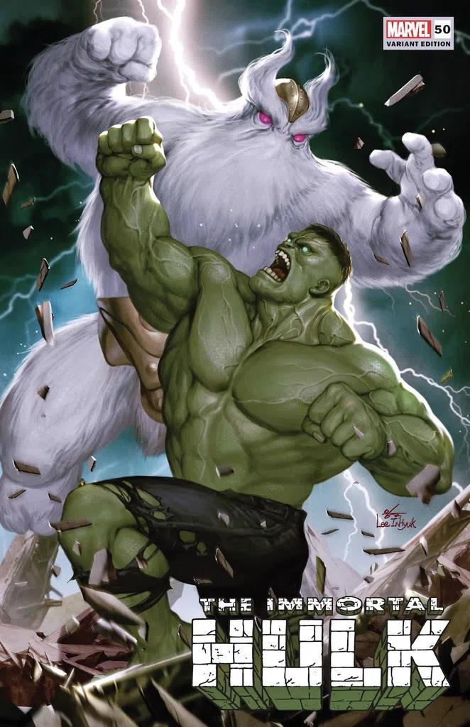 Immortal Hulk #50 (Inhyuk Lee Variant)