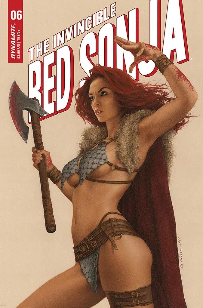 Invincible Red Sonja #6 (Cover C Celina)