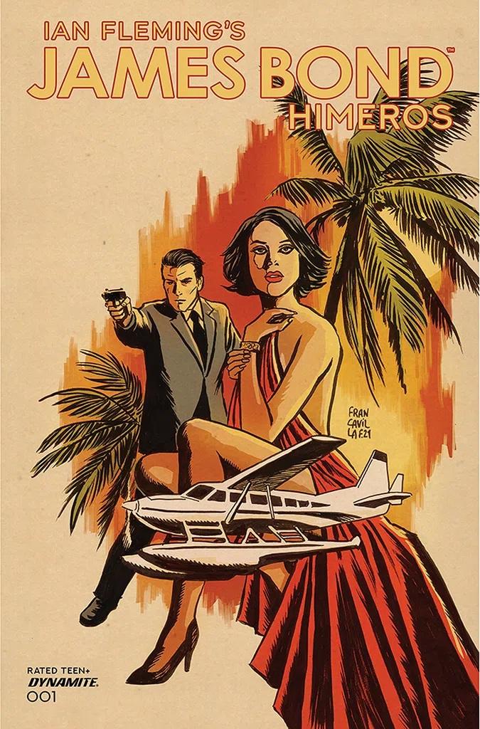 James Bond Himeros #1 (Cover A Francavilla)