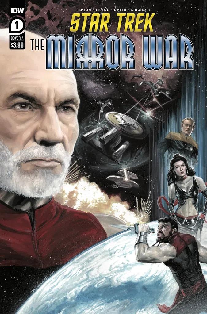 Star Trek The Mirror War #1 (Cover A J K Woodward)