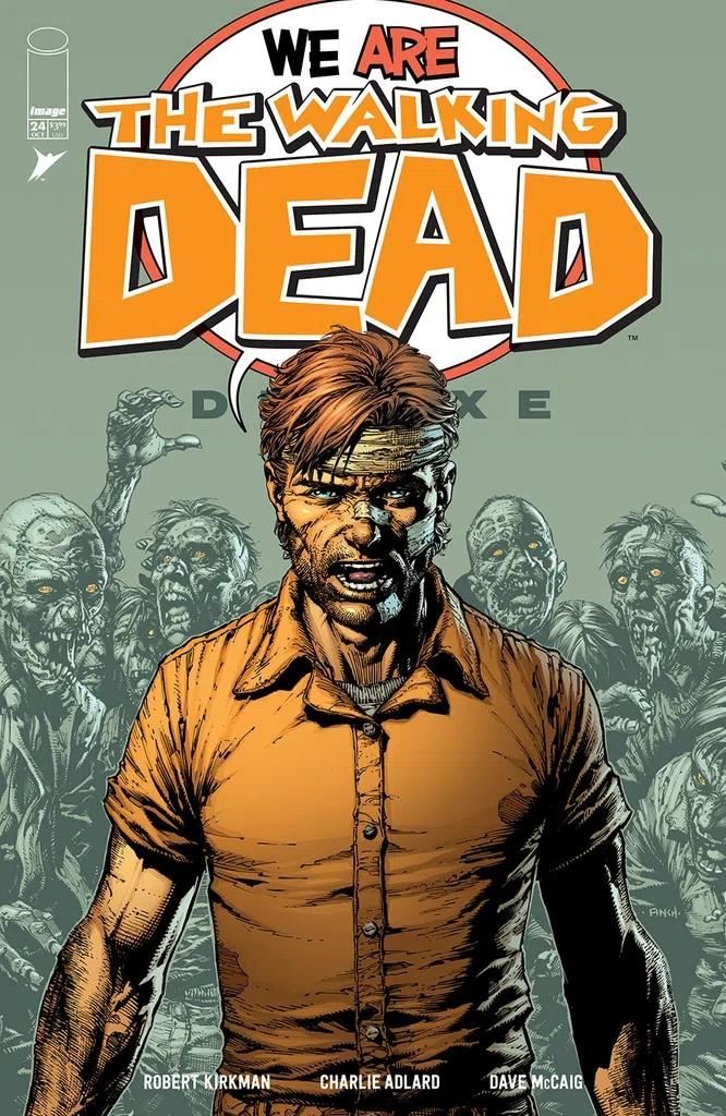 Walking Dead Deluxe #24 (Cover A Finch & Mccaig)
