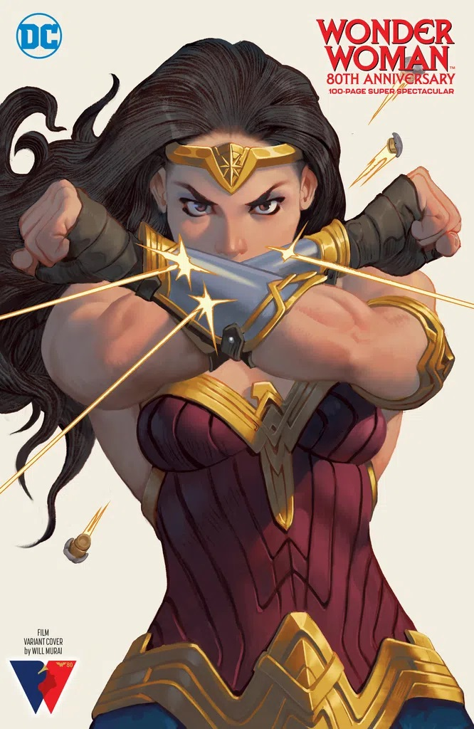 Wonder Woman 80th Anniversary 100-Page Super Spectacular (Will Murai Movie Inspired Variant)